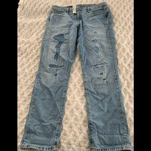J.Crew Broken in Boyfriend Jeans Ankle